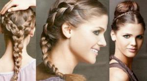 Плетение кос, техника, требующая терпения