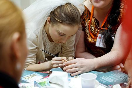 Нейл-дизайн, уроки красоты, Фестиваль невест