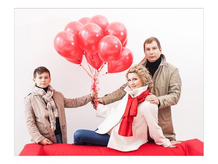 Семейная съемка, фотограф Марина Кочаровская, Тюмень