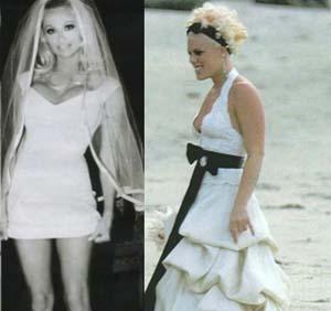 Самые - самые звездные платья Валентино. Свадебное платье