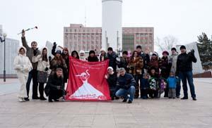 Участницы Десятого Фестиваля невест в Тюмени