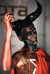 Образ Дъявола на Хелолуин